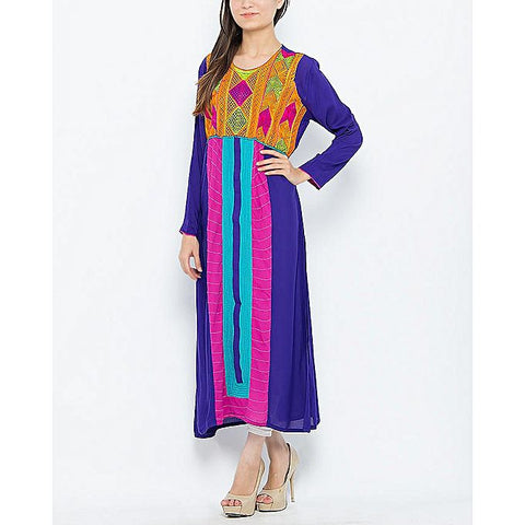 FC Purple Malai Kurta for Women