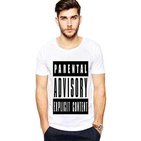 White Advisory T-Shirt for Men