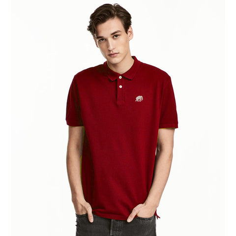 Red Signature Polo Shirt for Men
