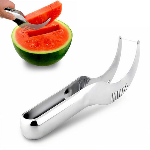 Steel Watermelon Slicer & Server