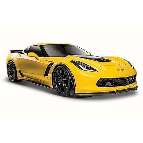Yellow 2015 Chevrolet Car Toy
