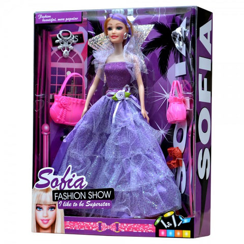 Sofia Fashion Doll with Accessories