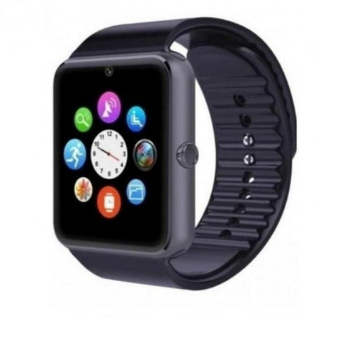 Smart Watch GT08- GSM and Bluetooth - Black