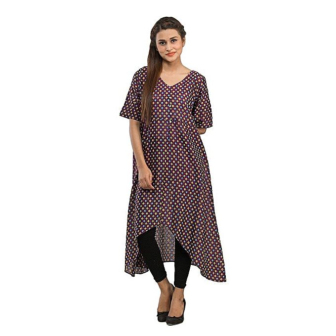 FC Cotton Basic Kurta for Women