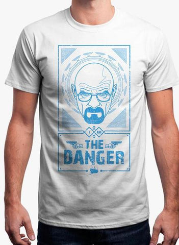 I AM THE DANGER - BREAKING BAD TEE Half Sleeves T-Shirt