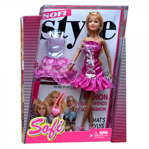 Sofi Fashion Doll with Accessories