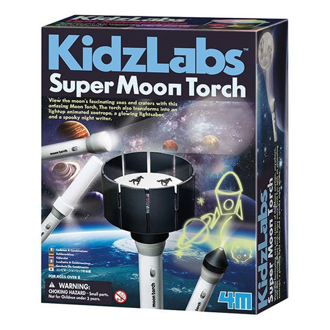 Kidzlabs Super Moon Torch for Kids
