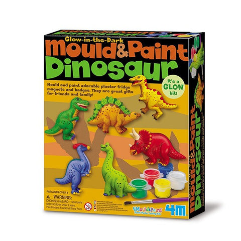 Mould And Paint Dinosaur for Kids
