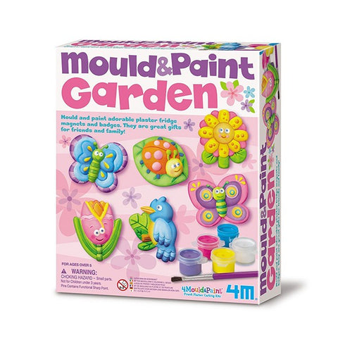 Mould and Paint Garden for Kids