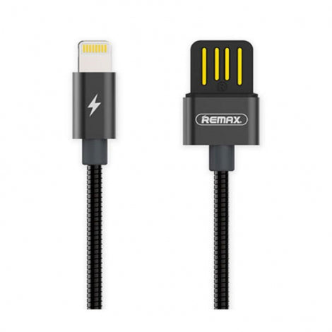 Remax RC080i USB to 8 Pin Data Charging Cable For iPhone Black