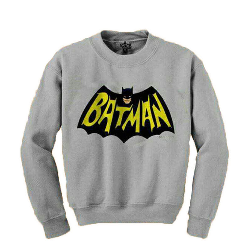 Gray BATMAN Sweatshirt for Men