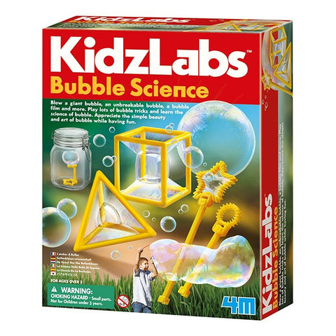 KidzLab Bubble Science for Kids