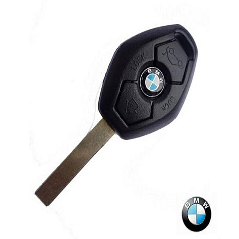 Store 3 Button Key Shell Case Cover Fit for BMW 3 5 Series