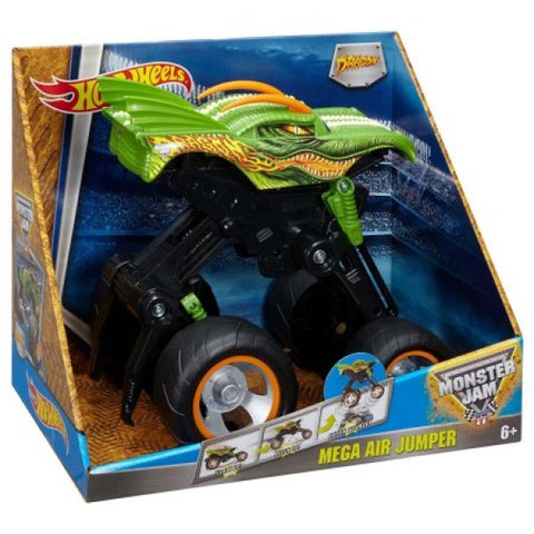 Monster Jam Mega Air Jumper Toy