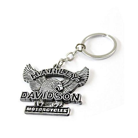Keychain - Metal - Harley Davidson Motorcycles
