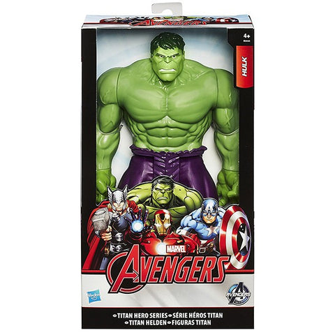 Marvel Avengers Titan Hero Hulk Figure for Kids