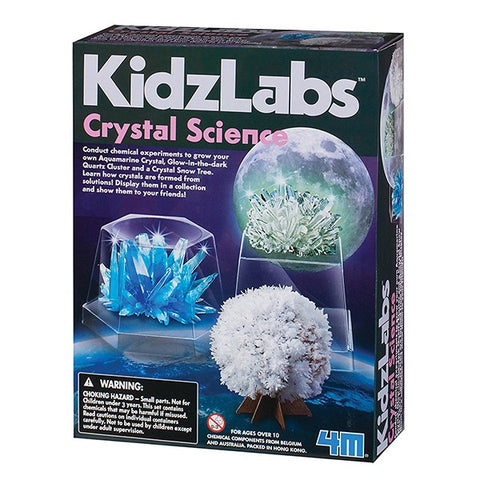 KidzLabs Crystal Science Kit for Kids