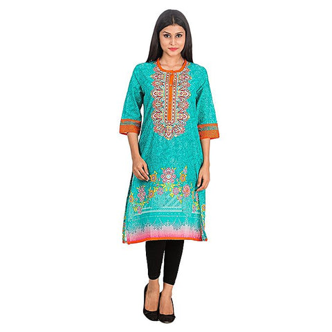 FC Malai Kurta with Embriodery for Women
