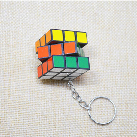 Circle Puzzle Package Hanging Key Ring
