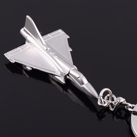 Fighter Jets Metal Alloy Key Chains
