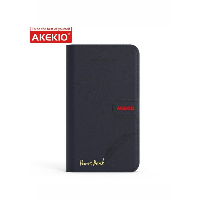 Akekio Power Bank 18200Mah Portable External Battery Charger Built-In Lightning - Nb3-Black