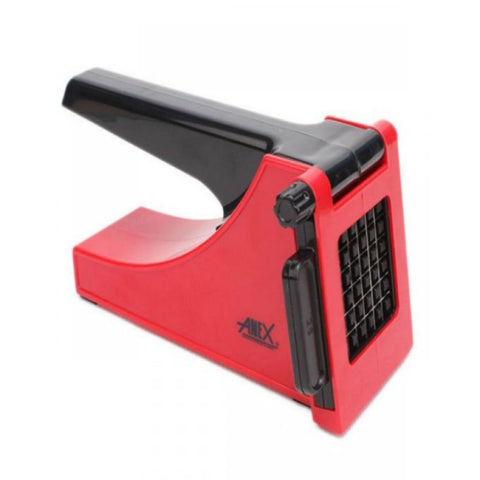 Anex AG-04 - French Fries Cutter - Red & Black