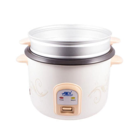 Anex AG-2023 - Deluxe Rice Cooker - White