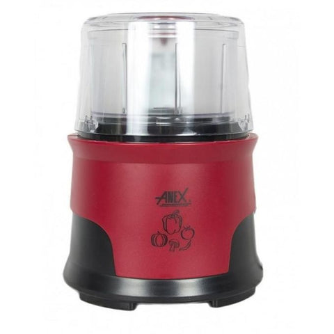 Anex AG-3056 - Chopper 1000 Watts - Red & Black