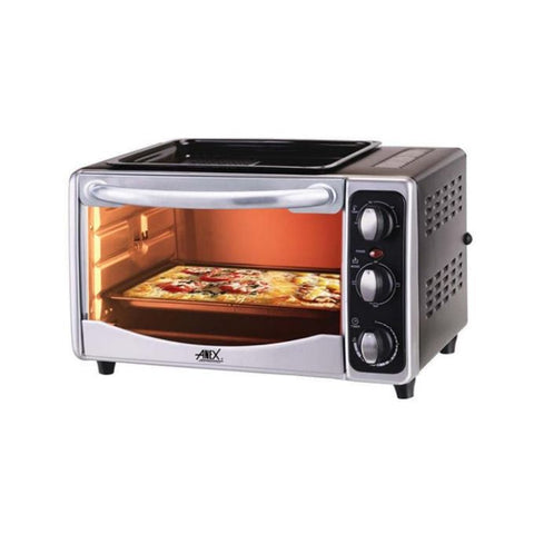 Anex AG-3066TT - Deluxe Oven Toaster - 1300 Watts - Black