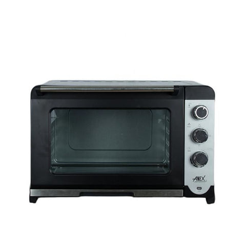 Anex AG-3068 - Oven Toaster with BBQ Grill - Black