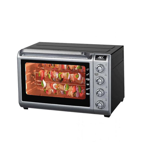 Anex AG-3071 - Deluxe Oven Toaster - Black & Silver