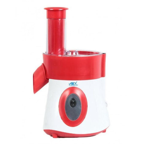 Anex AG-397 - Deluxe Vegetable Slicer - White & Red