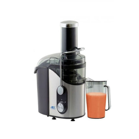 Anex AG-89 - Deluxe Juicer - 800 Watts - Black & Silver