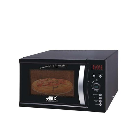 Anex AG-9035 - Microwave Oven With Grill - Black
