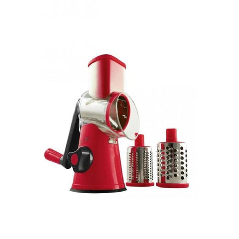 Anex AG 12 - Deluxe Handy Vegetable Slicer - Red & Silver