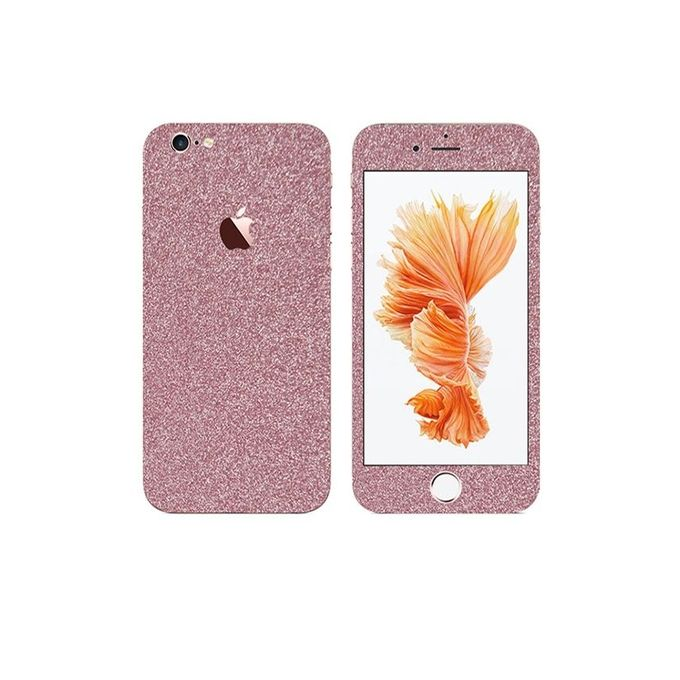 Apple Iphone 6s Glitter Mobile Skin - Pink