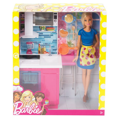 Barbie Doll & Furniture