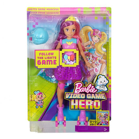 Barbie™ Video Game Hero™ Match Game Princess™ Doll