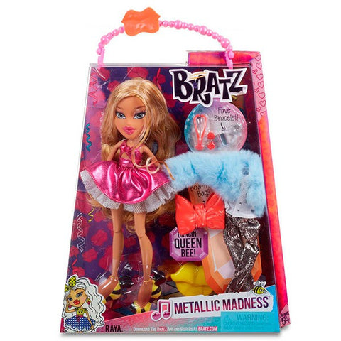 Bratz Metallic Madness Doll- Raya