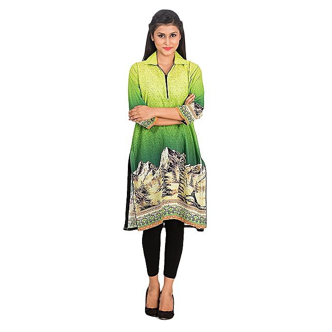 FC Digital Printed Lawn Kurta for Women
