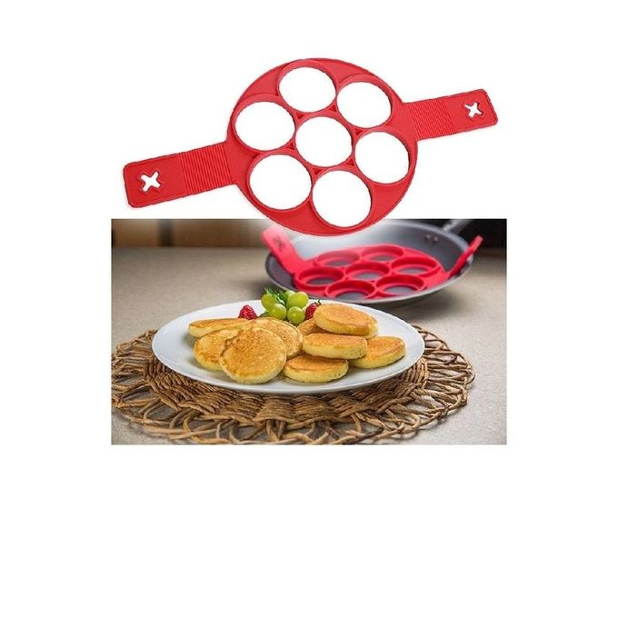 Flippin Pancake Mold - Red