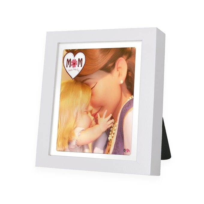 Frozen Mom White Frame - IAM-WF9