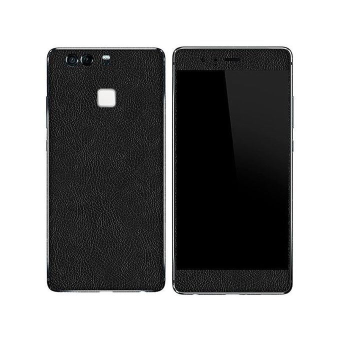 HUAWEI P9 Black Common Leather Texture Mobile Skin