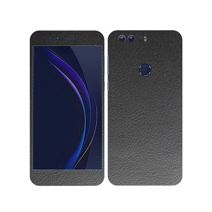 Huawei Honor 8 Black Common Leather Texture Mobile Skin
