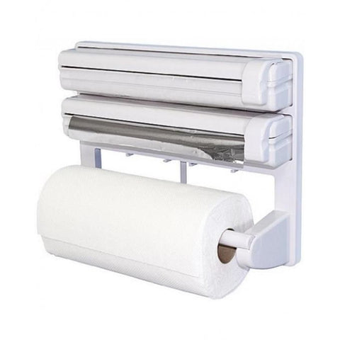 Triple Paper Dispenser - Plastic Rap Frame