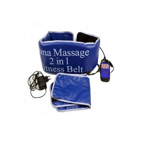 Massage Belt 2 in 1 -Blue