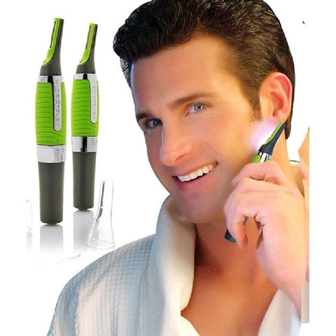 Micro Touch Max Hair Remover for Men - Green