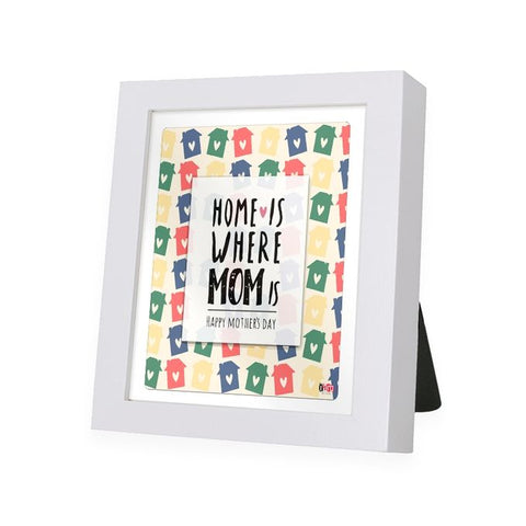 Mother Love White Frame - IAM-WF10