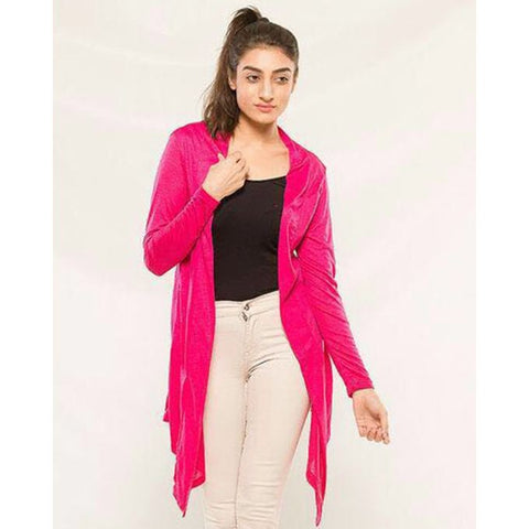 Pink Stylish shrug for women