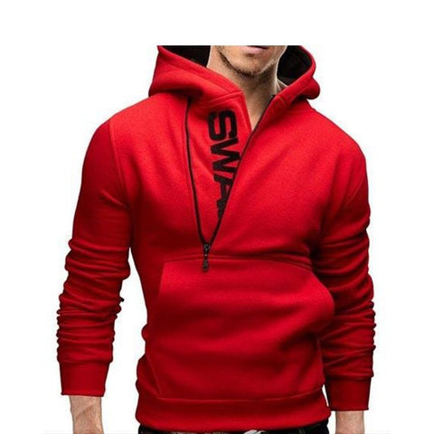 Red Swag Hoodie For Men